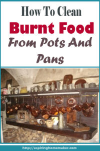 How To Clean Burnt Food From Pots And Pans Aspiring