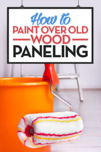 How to Paint Over Old Wood Paneling